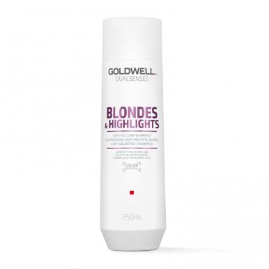 Goldwell Dualsenses Blond & Highlights 250ml - Šampon pro blond vlasy