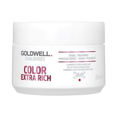 Goldwell Dualsenses Color Extra Rich 60sec Treatment 200ml - Maska na barvený vlas