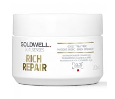 Goldwell Dualsenses Rich Repair 60sec Treatment 200ml - Maska na poškozený vlas