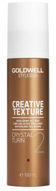 Goldwell StyleSign Creative Texture Crystal Turn 100ml - Gelový vosk pro lesk vlasů