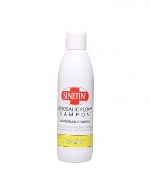 Hessler Sinetin Sírosalicylový Šampon 200ml - Antibakteriální