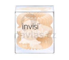 InvisiBobble - Gumička do vlasů pastelově béžová 3ks NE