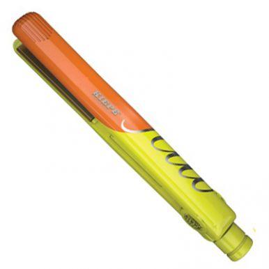 Kiepe Fluo Titanum - Žehlička na vlasy žlutá