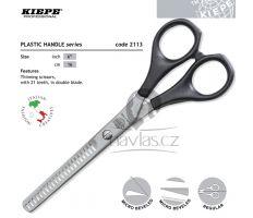 """Kiepe Plastic Handle Line 2113/6"""" Profi Efilační oboustranné nůžky"""