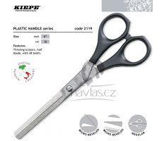 "Kiepe Plastic Handle Line 2119/6"" Profi Efilační nůžky"