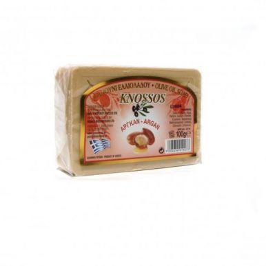 Knossos Olivové mýdlo - argan 100g