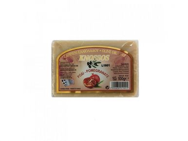 Knossos Olivové mýdlo - granátové jablko 100g