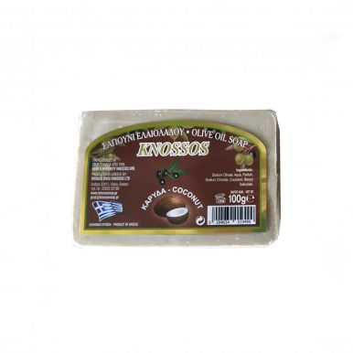 Knossos Olivové mýdlo - kokos 100g