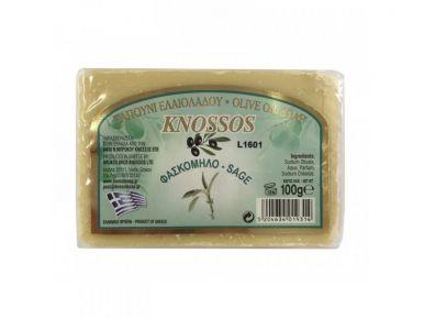 Knossos Olivové mýdlo - šalvěj 100g