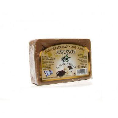 Knossos Olivové mýdlo - vanilka 100g