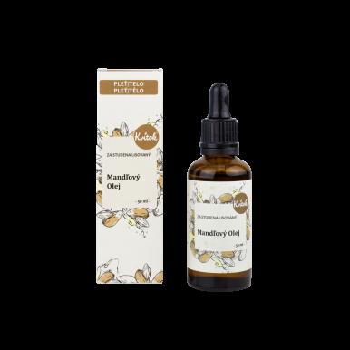 Kvítok Pleťový Organický Olej 50ml - Mandlový
