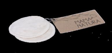 Mama Natura Pratelné odličovací tamponky - 2ks (malé)