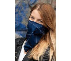 NanoSPACE Antivirový Šátek - Tmavě modrý