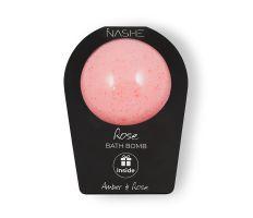 NASHE Bath Bomb Rose 190g - Koupelová bomba