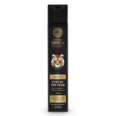 Natura Siberica - Pánský energetizující šampon pro tělo a vlasy Zuřivost tygra 250ml