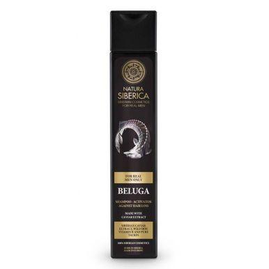 Natura Siberica - Pánský šampon proti výpadávání vlasů Beluga 250ml