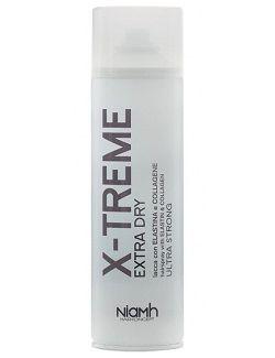 Niamh X-Treme Hair Spray 500ml - Ultra silný suchý lak