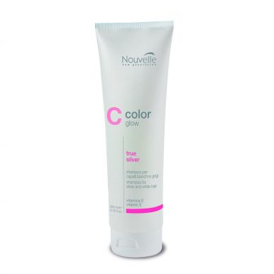 Nouvelle Color Glow True Silver Shampoo 200ml - Šampon pro blond vlasy