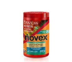 Novex Brazilian Keratin Deep Treatment Conditioner 400ml - Maska s obsahem keratinu