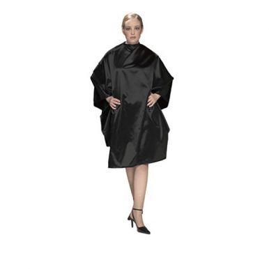 Olivia Garden Charm Cape Black - Kadeřnická pláštěnka černá