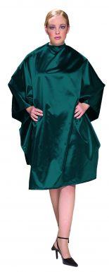 Olivia Garden Charm CapeTeal - Kadeřnická pláštěnka zelená