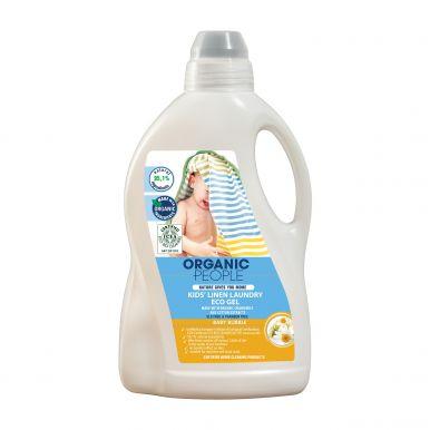 Organic People Kid's Linen Laundry Eco Gel 1500ml - Ekologický prací gel pro děti