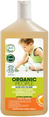 Organic People Tiled Floors Cleaning Eco Gel 500ml - Eko gel na čištění dlažby