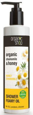 Organic Shop Shower Foamy Oil Chamomile & Honey 280ml - Srpchový olej