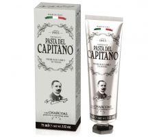 Pasta del Capitano Charcoal 75ml - Prémiová zubní pasta s aktivním dřevěným uhlím