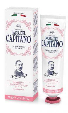 Pasta del Capitano Sensitive 75ml - Prémiová zubní pasta na citlivé zuby