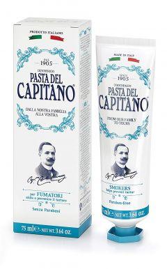 Pasta del Capitano Smokers 75ml - Prémiová zubní pasta pro kuřáky