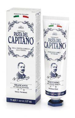 Pasta del Capitano Whitening 75ml - Prémiová zubní pasta s bělícím účinkem