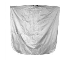 Pláštěnka barvící PVC - stříbrná CV1801S