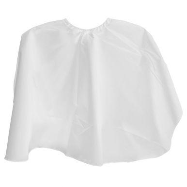 Pláštěnka česací krátká - bílá