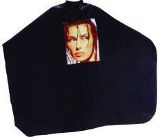 Pláštěnka střihací Foto - černá
