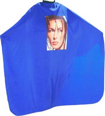 Pláštěnka střihací Foto - modrá