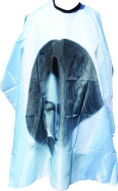 Pláštěnka stříhací Tvář - modrá
