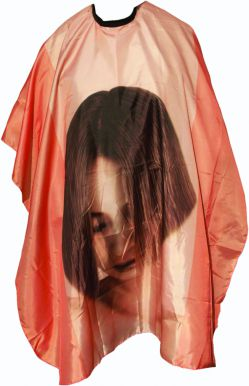 Pláštěnka stříhací Tvář - oranžová