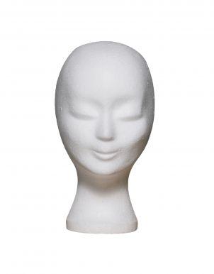 Polystyrénová hlava na paruky