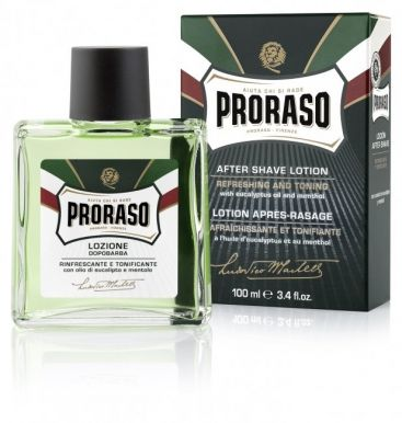 Proraso Green After Shave Lotion 100ml - Voda po holení