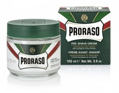 Proraso Green Pre-Shaving Cream 100ml - Krém před a po holení