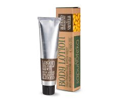 Sapunoteka Body Lotion Almond 165ml - Tělový krém s mandlovým olejem a bambuckým máslem