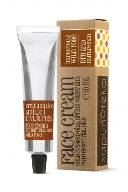 Sapunoteka Face Cream Dry & Mature Skin 40ml - Denní krém na suchou a zralou pleť