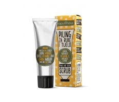 Sapunoteka Scrub Body and Hands Coffee 75ml - Peeling na tělo a ruce