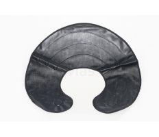 Stříhací límec plast.černý-ovál