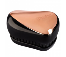 Tangle Teezer Compact Styler Rose Gold Black - Kartáč na vlasy