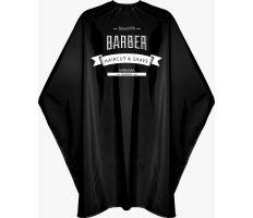 The Shave Factory Barber Cape - Barber pláštěnka černá