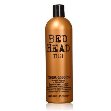 Tigi Bed Head Colour Goddess Shampoo 750ml - Šampon na hnědé a červené vlasy