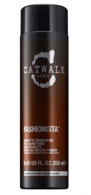 Tigi Catwalk Fashionista Brunette Conditioner 250ml - Kondicionér pro hnědé vlasy