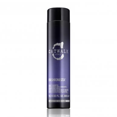 Tigi Catwalk Fashionista Violet Shampoo 300ml - Šampon pro blonďaté a melírované vlasy